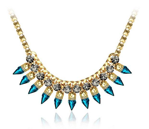 Belle paris bijoux pas cher cristal swarovski bijoux femme alliage zircon col - Paris melbourne pas cher ...