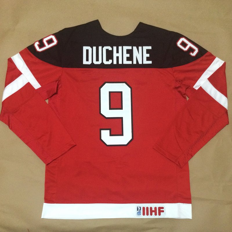 2014 Team Canada Olympic #9 Matt Duchene Red 100th Anniversary Stitched Hockey Jersey on sale,for Cheap,wholesale