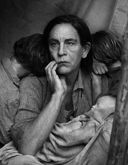 Iconic Portrait Photos Throughout History Recreated with John Malkovich as the Subject