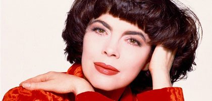 Mireille Mathieu   am 08.03.2014 in Riga