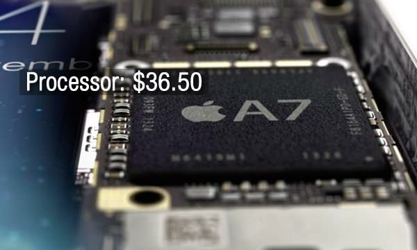 What it costs Apple to make the iPhone 5S (16Gb)?