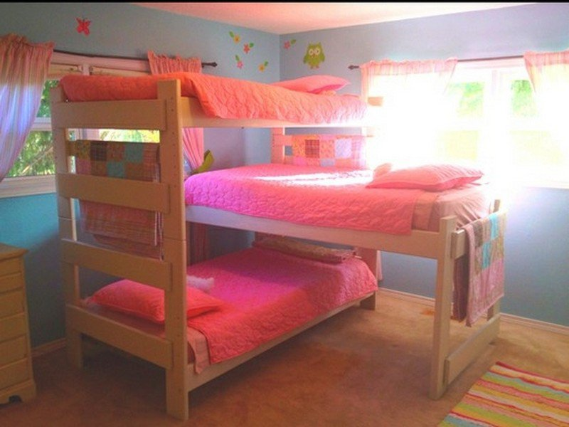 Triple bunk beds for dormitory putrilistya 39 s blog for 3 beds in one bunk bed