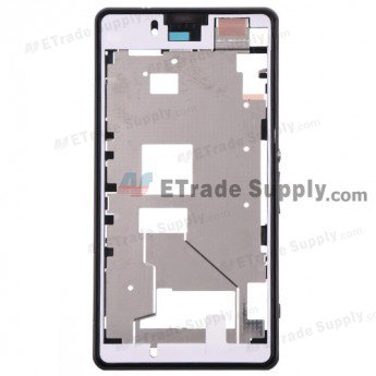 Sony Xperia Z1 Compact Middle Plate Assembly - Black