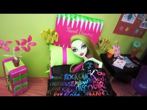 Id e pour faire le lit de v nus blogue de i love you love - Comment faire un lit pour monster high ...