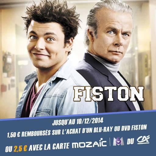 Jusqu'� 2,5� rembours�s sur l'achat du Blu-ray ou DVD du film Fiston avec Kev Adams et Franck Dubosc !