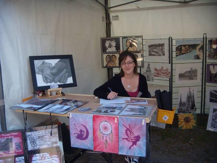 AnneSo Idark Drawing - Artisans au grand cours 25