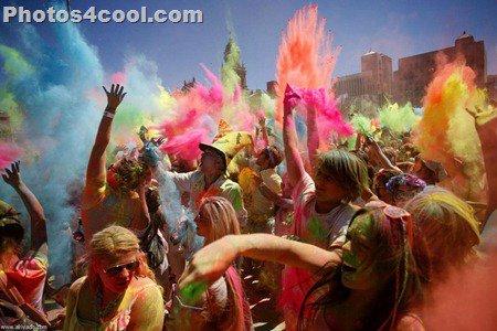 صور مهرجان الألوان فى جنوب افريقيا