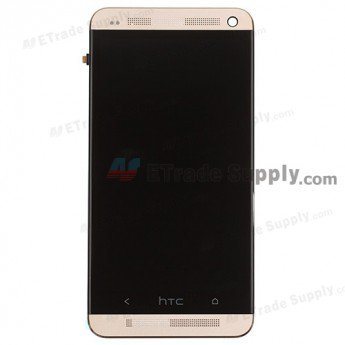 HTC One LCD Screen and Digitizer Assembly with Front Housing