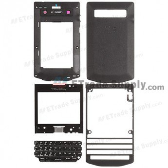 BlackBerry Porsche Design P'9981 Complete Housing - Black