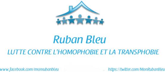 monrubanbleu.com Lutte contre l'Homophobie et la Transphobie