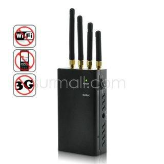 Audio bug - Wireless Spy Camera/Wifi/Bluetooth Jammer